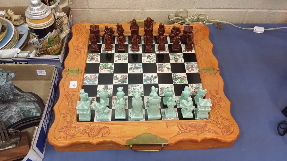 Chess Set 2 The Return Of The Rook Auction House Blues